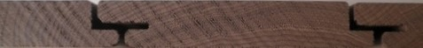 Thermo Jaseň fasádny obklad, clipový profil