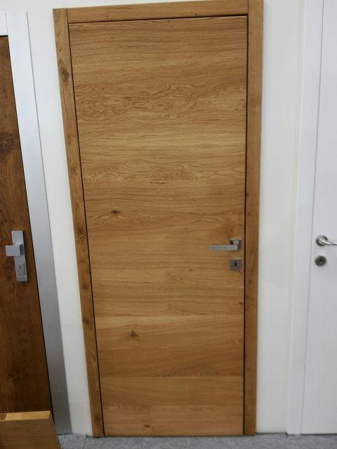 2ceb9f8ed ... Masívne dubové dvere prírodný olej so skrytými pántami ...